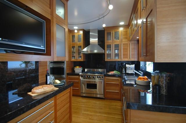 Striking a Balance-Kitchen contemporary-kitchen