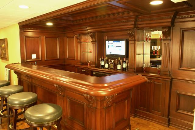 Custom residential bar - Residential bars ...