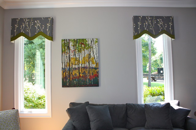 Hanging In Style Designs Modern Window Treatments