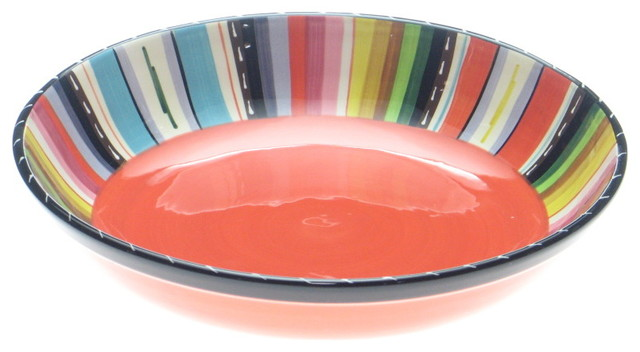 Certified International Santa Fe 13.25-inch Serving Bowl - Contemporary - Serving Bowls - by ...