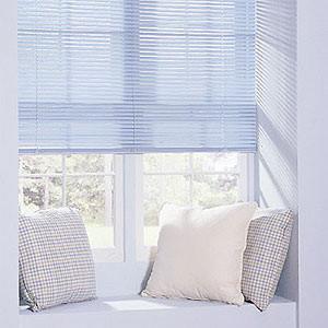 Levolor Mark I 1-inch 8-Gauge Metal Blinds contemporary-window-blinds