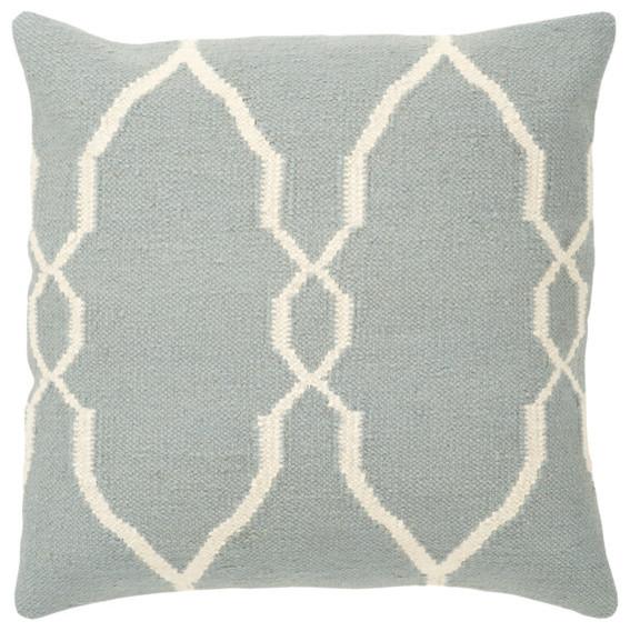 Blue Graphic Accent Pillow contemporary-decorative-pillows