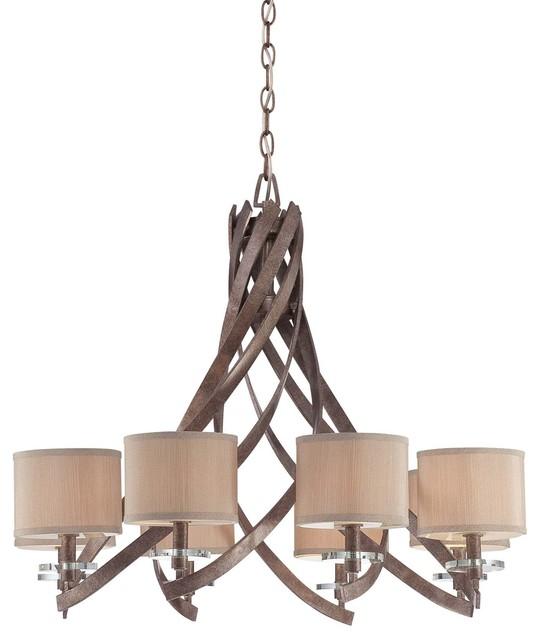 Luzon 8-Light Chandelier modern-chandeliers