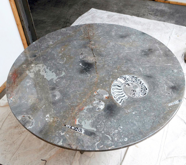 Fossil Marble Table Tops Modern St Louis By Time Tables