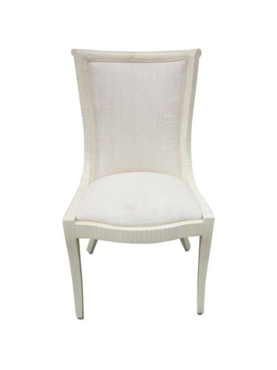 SOLD OUT!  Set of 4 Deco Mosaic Bone Chairs - $1,800 Est. Retail - $500 on Chair -