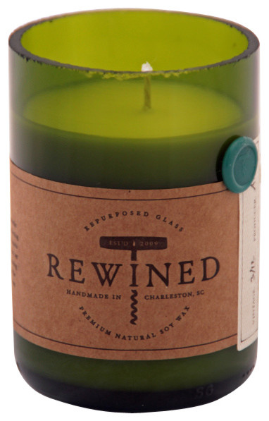 Rewined Riesling Soy Wax Candle contemporary-candles-and-candle-holders