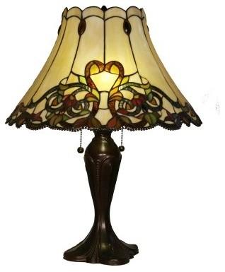Z-Lite Jubilee H18-5TL Table Lamp - 18W in. - Chestnut Bronze modern-table-lamps