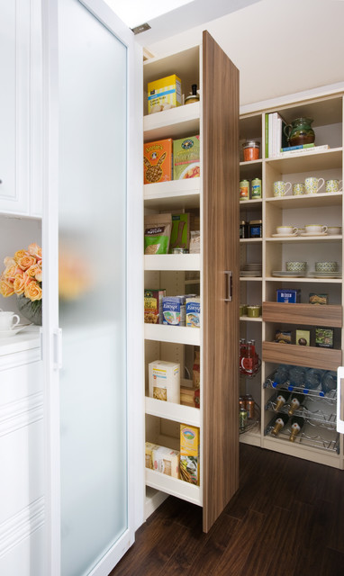 Pull-out Pantry Cabinet - Contemporary - other metro - by transFORM | The Art of Custom Storage
