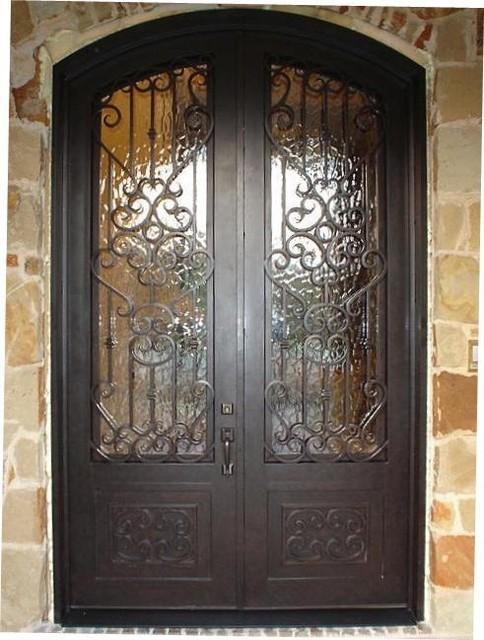 Iron Doors - Exterior traditional-front-doors