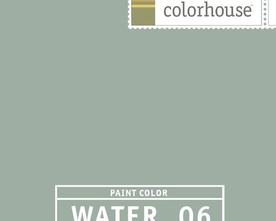 Colorhouse WATER .06 - Colorhouse WATER .06: A soothing and tranquil hue. Your eyes will love you for this one. Warmth exudes from this cooler hue. Use in living rooms, bedrooms and bathrooms.