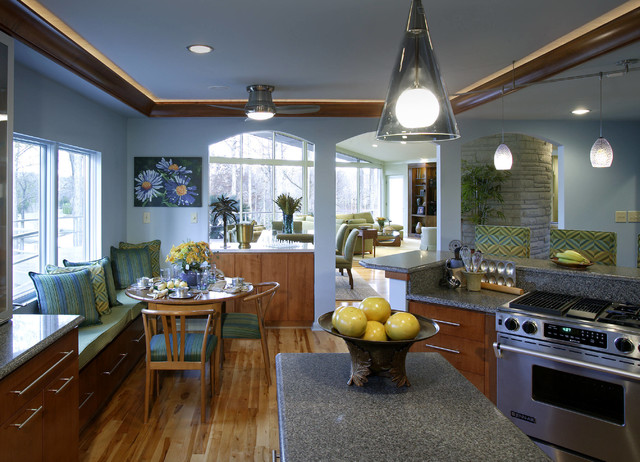 """Remodel: """"Adding Light by Window"""" contemporary-kitchen"""