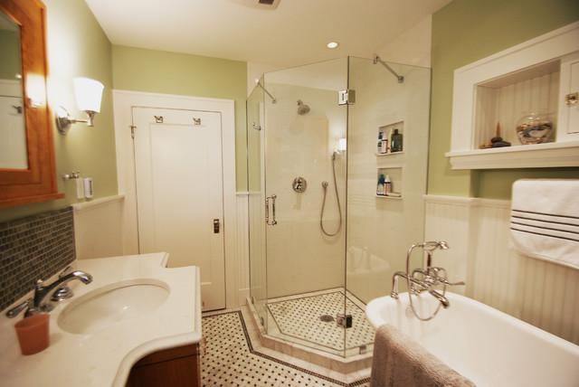 Mac-Groveland Master Bath traditional-bathroom