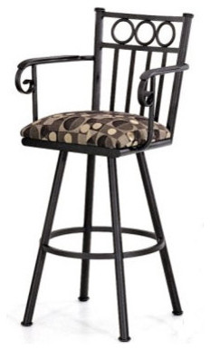 "Wilmington 30"" Barstool w/ Arms modern-bar-stools-and-counter-stools"