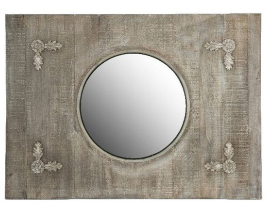 Shabby Chic Sale ~ Sale Ends Friday Febuary 15th - Crescent Mirror