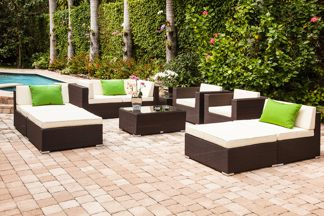 Almari set modern outdoor sofas miami by mh2g for Outdoor furniture miami