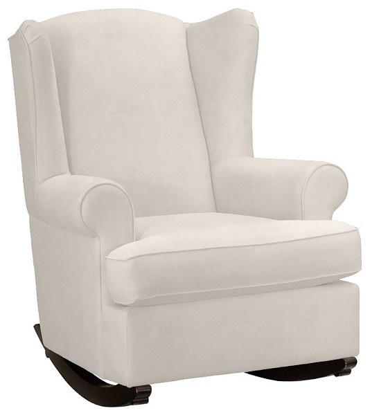wingback rocker contemporain fauteuil d 39 allaitement par pottery barn kids. Black Bedroom Furniture Sets. Home Design Ideas