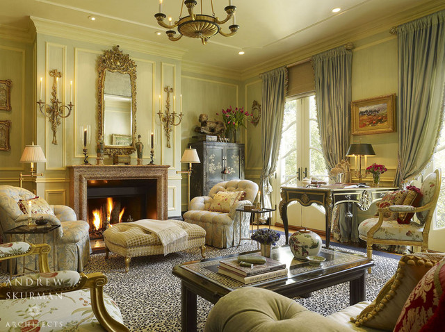 Interior Architecture In The French Style Traditional