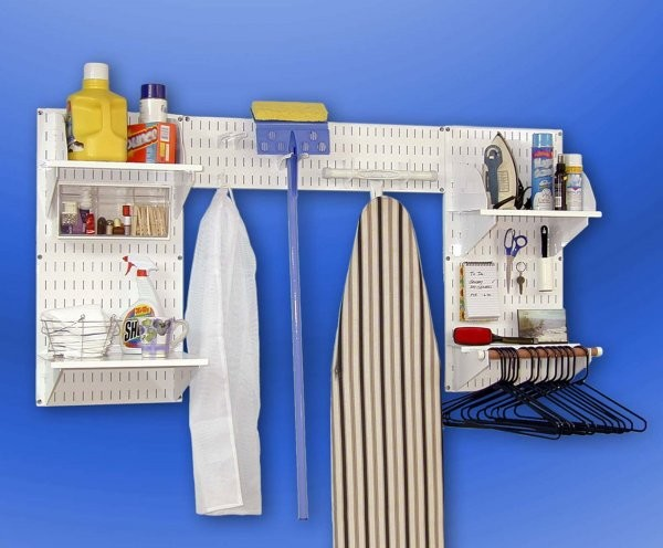 EZ Wall Organizer Laundry Room Kit - contemporary - laundry ...