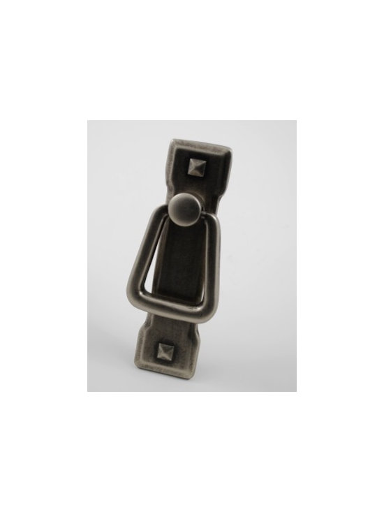 Antique Pewter Cabinet Pulls - Antique Pewter Cabinet Hardware available at: http://rusticahardware.com/antique-pewter-cabinet-pull-style-13/