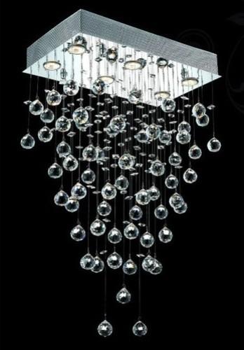 Galaxy 6 Light LED Chandelier modern-chandeliers