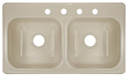 "Deluxe 33"" x 19"" Kitchen Sink modern-bath-products"