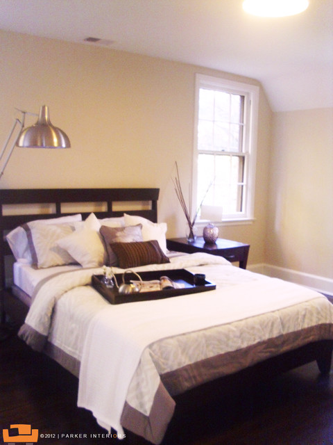 Parker Interiors Bedroom Stagings contemporary-bedroom
