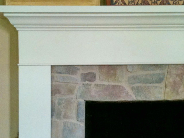 Fireplace reface -