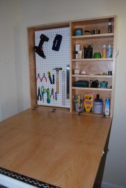 Craft Cabinet - Modern - Storage Cabinets - cincinnati - by Sawdust ...