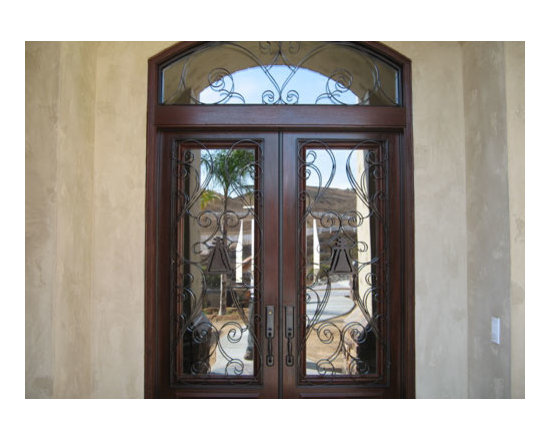 Anaheim Home Security Door - Anaheim modern and decorative doors for home security and safety.