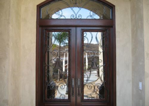 Anaheim Home Security Door modern-front-doors