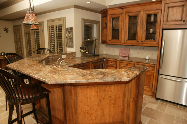 Rain Forest traditional-kitchen-countertops