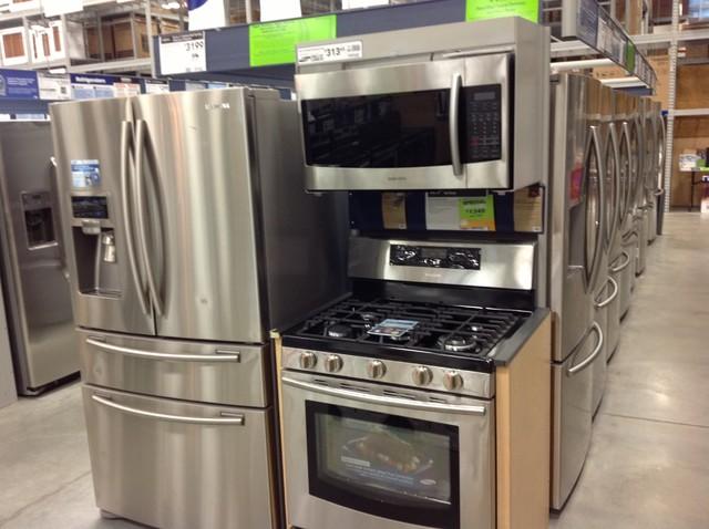 Kitchen range and microwave - Samsung