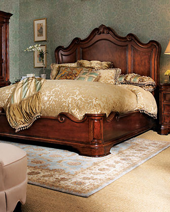 Lumiere Bedroom Furniture traditional beds