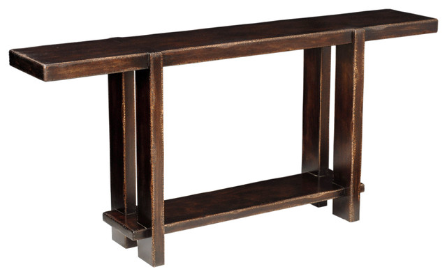 Giza Narrow Console Traditional Console Tables By