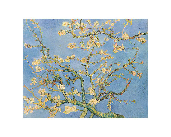 Blossoming Almond Tree | van Gogh | Painting Reproduction -