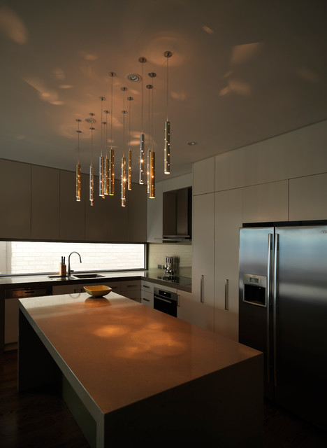 rain light drops 15 drops contemporary kitchen