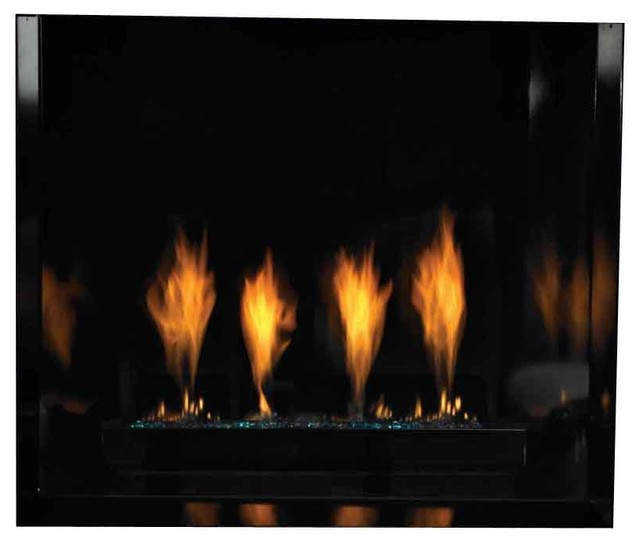 Chateau Contemporary 36 Direct Vent Fireplace Natural Gas Modern Indoor Fireplaces By