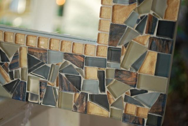 Mosaic Mirrors from Green Street Mosaics contemporary-mirrors