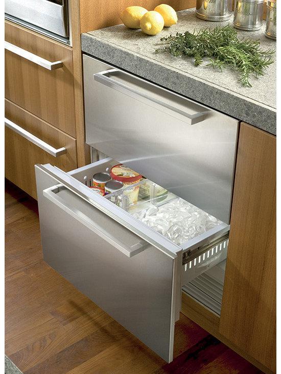 """Sub-Zero 30"""" Freezer Drawers Stainless Steel   ID-30FI -"""