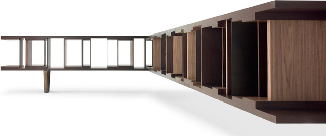 Ceccotti DC Library Corner Bookshelves - Modern - Bookcases - by Switch Modern