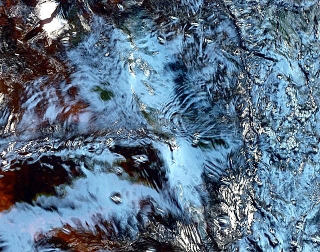 blue reflection contemporary-artwork
