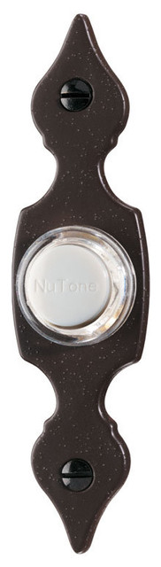 NuTone Lighted Door Chime Pushbutton PB29LR contemporary-doorbells-and-chimes