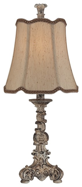 french candlestick accent lamp traditional table lamps by lamps. Black Bedroom Furniture Sets. Home Design Ideas
