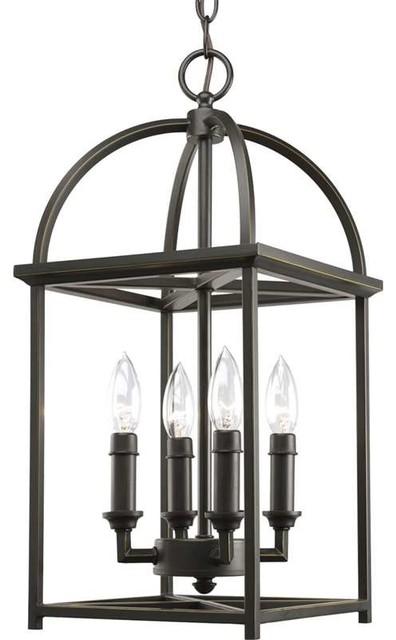 progress lighting p3884 20 piedmont 4 light hall foyer. Black Bedroom Furniture Sets. Home Design Ideas