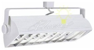 Accessory Louvers for Compact Fluorescent Track Heads modern-pendant-lighting