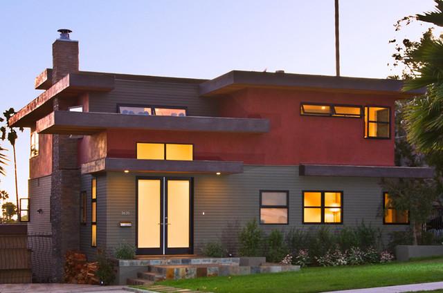 Mar Vista Home contemporary-exterior