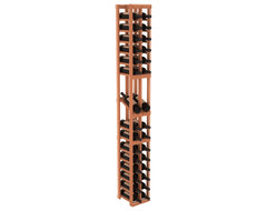 2 Column Display Row Wine Cellar Kit in Redwood, (Unstained) contemporary-wine-racks