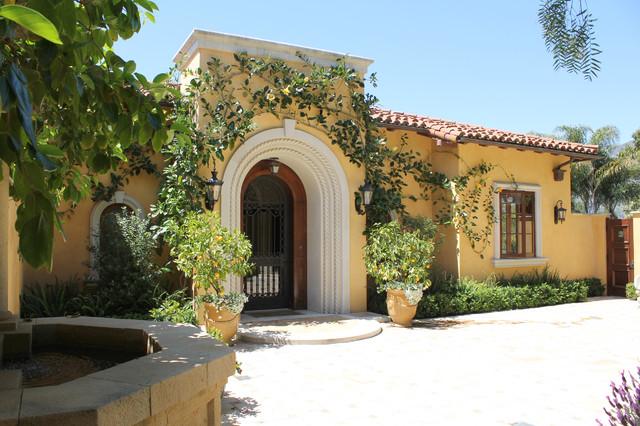 Mediterranean Villa Mediterranean Exterior Santa
