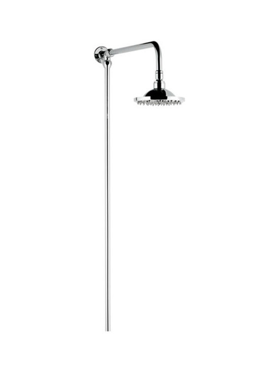 Hudson Reed - Hudson Reed Traditional fixed bar and shower head kit - Traditional fixed bar shower head kit features rub clean rubber nipples.Dimensions:  Height: 41.7 Width: 0.7 Depth: 19.75