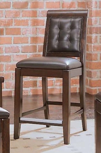 Tribecca Leather Bar Stool (Set of 2) modern-footstools-and-ottomans